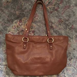Real Leather Ralph Lauren Tote